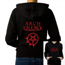 Women Arch enemy hoodie sweatshirt