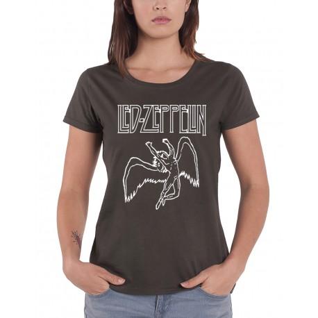 Led Mujer Mujer Camiseta Led Camiseta Zeppelin Mujer Camiseta Zeppelin P8O0wnk