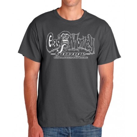 Camiseta hombre Gas Monkey Blood, sweat and beers