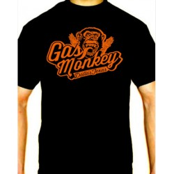 Men Gas Monkey Dallas Texas T-shirt