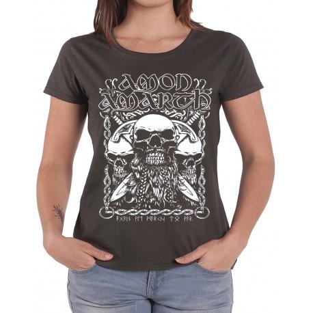 Women Amon Amarth T shirt