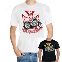 Men West Coast Choppers T shirt