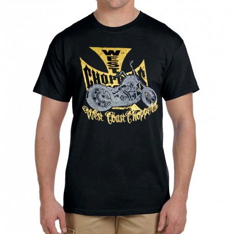 Men West Coast Choppers T-shirt