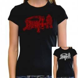Women Death T shirt