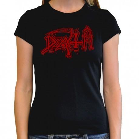 Women Death T shirt