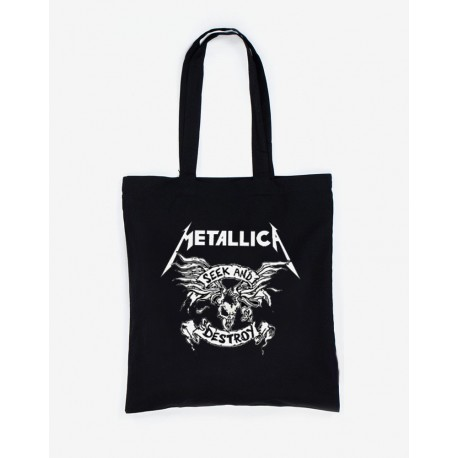 Bolsa de tela Metallica