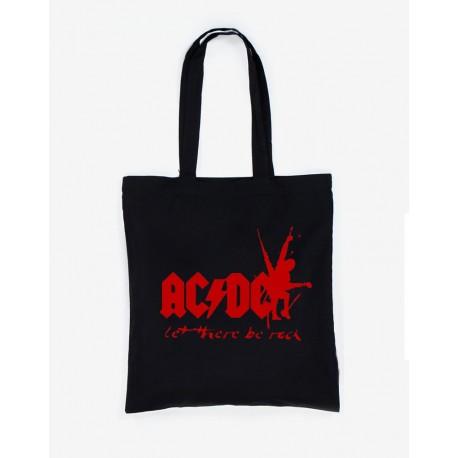 Bolsa de tela AC/DC