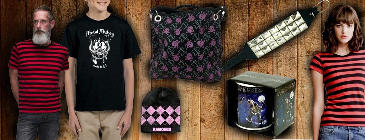 Online Shop of rock shirts