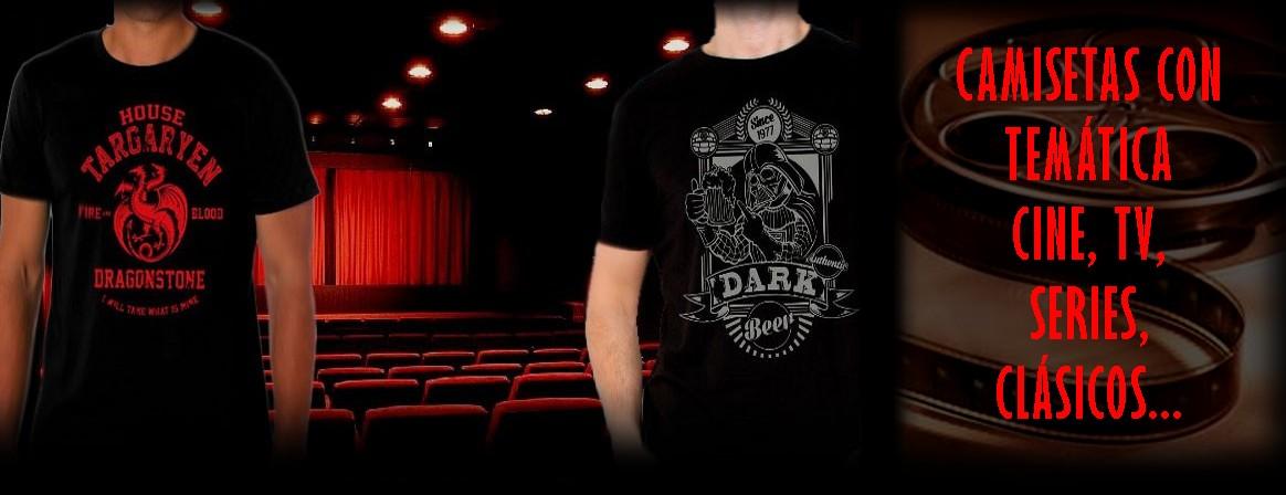 Tienda online de Camisetas de rock, cine, tv, series