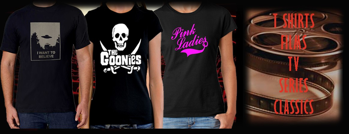 Online Shop of rock, films, tv, series shirts