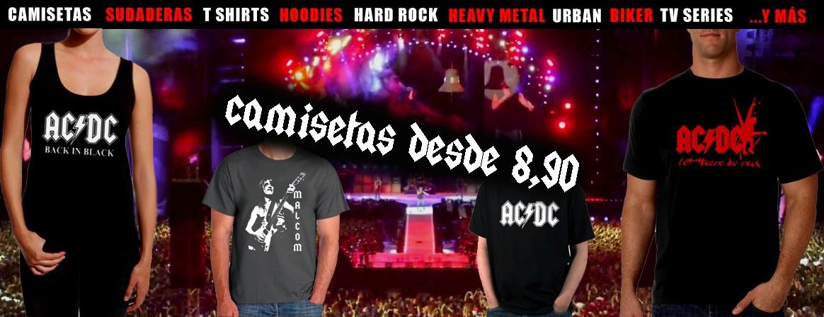 Tienda online de Camisetas de rock