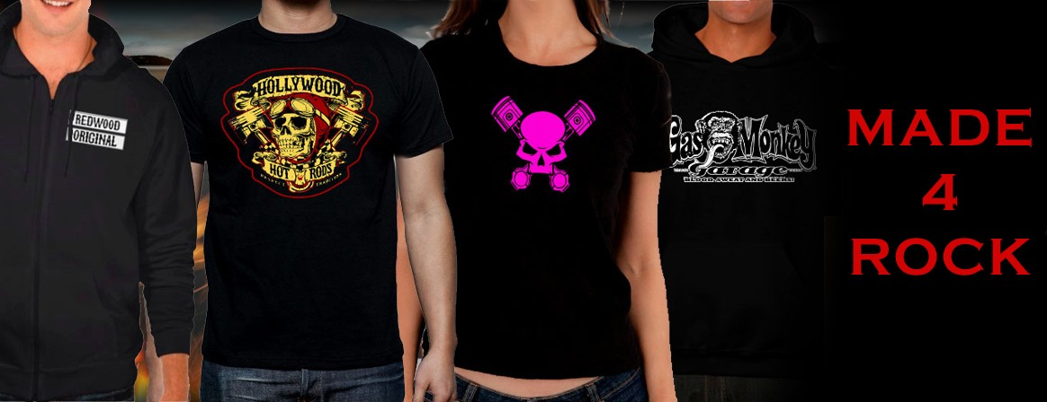Online Shop of rock shirts